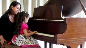 Piano Teacher in NJ - Prin with piano student